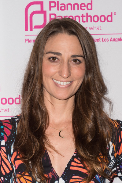 Sara Bareilles Long Wavy Cut