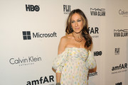 Sarah Jessica Parker Off-the-Shoulder Dress