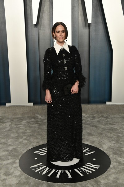 Sarah Paulson Sequin Dress