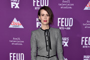 Sarah Paulson Metallic Clutch