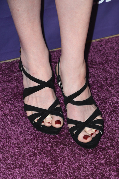 Sarah Rafferty Strappy Sandals