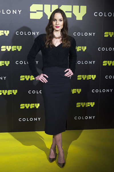 Sarah Wayne Callies Evening Pumps