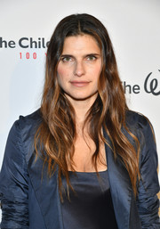 Lake Bell sported hippie-chic waves during Save the Children's Centennial Celebration.