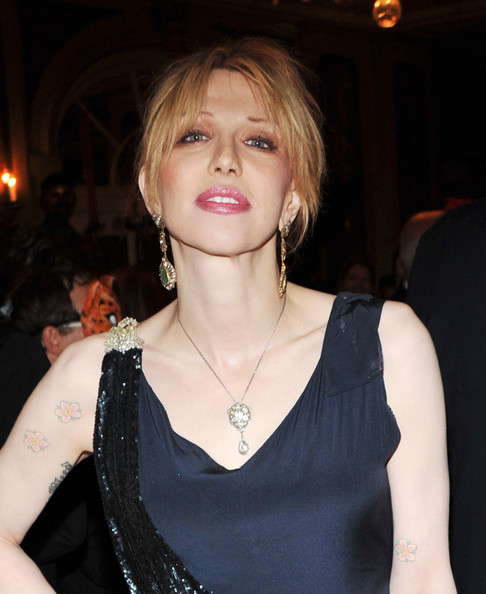 More Pics of Courtney Love Evening Dress (1 of 8) - Courtney Love Lookbook - StyleBistro