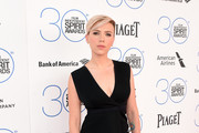 Scarlett Johansson Little Black Dress