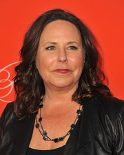 I. Marlene King kept it casual with this shoulder-length curly 'do at the 'Pretty Little Liars' Halloween episode screening.