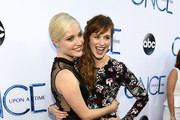 Actress Georgina Haig and Actress Elizabeth Lail attends a screening of  ABC's