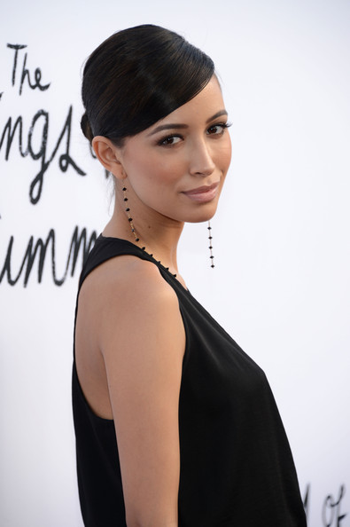 More Pics of Christian Serratos Jumpsuit (1 of 2) - Christian Serratos Lookbook - StyleBistro