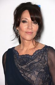 Katey Sagal styled her hair in a glamorous loose ponytail for the 'Sons of Anarchy' Season 5 screening.