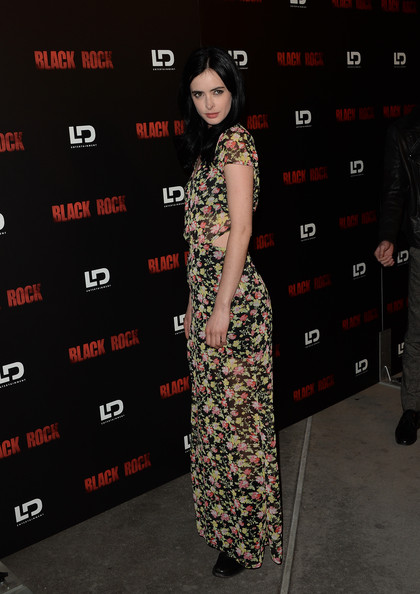 More Pics of Krysten Ritter Long Straight Cut (1 of 10) - Long Straight Cut Lookbook - StyleBistro