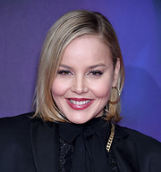 Abbie Cornish sported a slick bob at the screening of 'Perfect.'