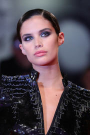 Sara Sampaio looked vampy with her smoky eyes at the Venice Film Festival screening of 'Seberg.'