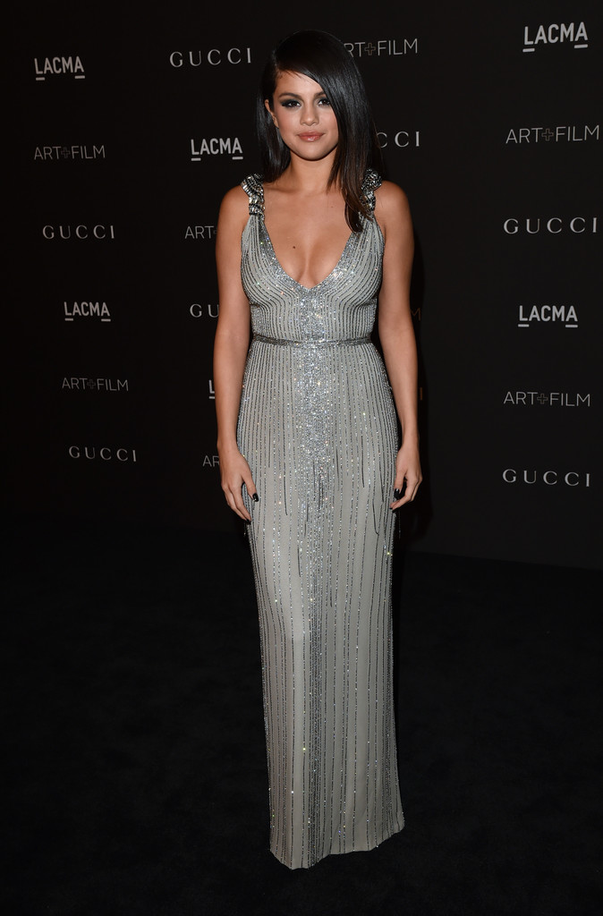 Selena Gomez Beaded Dress Selena Gomez Clothes Looks