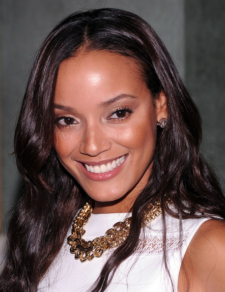 Selita Ebanks Gold Chain