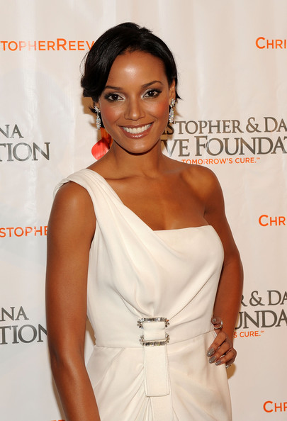 Selita Ebanks Loose Bun