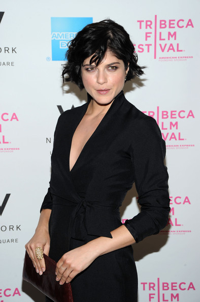 Selma Blair Messy Cut