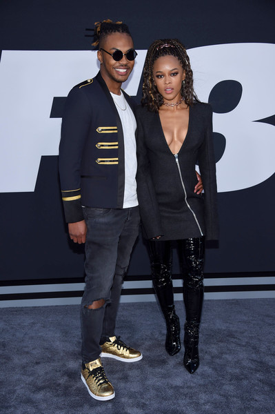 Serayah McNeill Over the Knee Boots