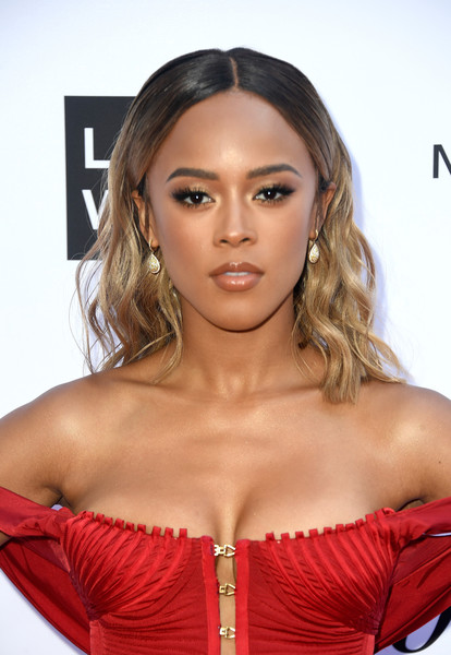 Serayah McNeill Medium Wavy Cut