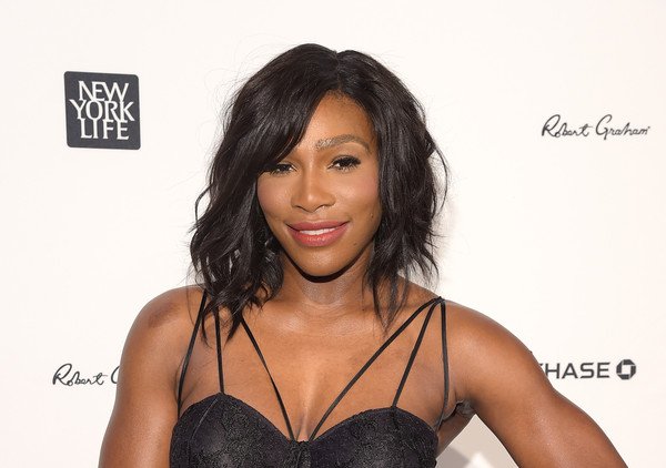 Serena Williams Medium Wavy Cut