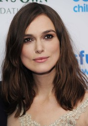 Keira Knightley styled her hair with just a hint of a wave for the SeriousFun London Gala.
