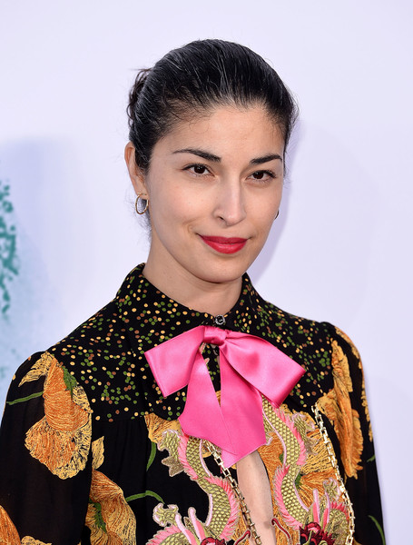 Caroline Issa pulled her hair back into a classic bun for the Serpentine Galleries Summer Party.