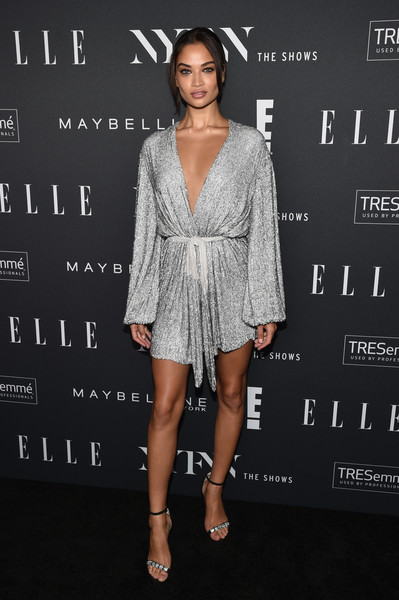 Shanina Shaik Evening Sandals [the shows,clothing,dress,cocktail dress,fashion model,fashion,hairstyle,shoulder,premiere,joint,footwear,shanina shaik,nyfw,the pool,new york city,elle,e,img,img celebrate the kick-off,kick-off]