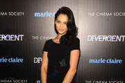 Shanina Shaik Little Black Dress