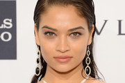 Shanina Shaik Long Side Part