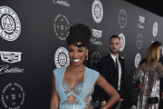 Shanola Hampton Beaded Clutch