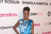 Shanola Hampton Peep Toe Pumps