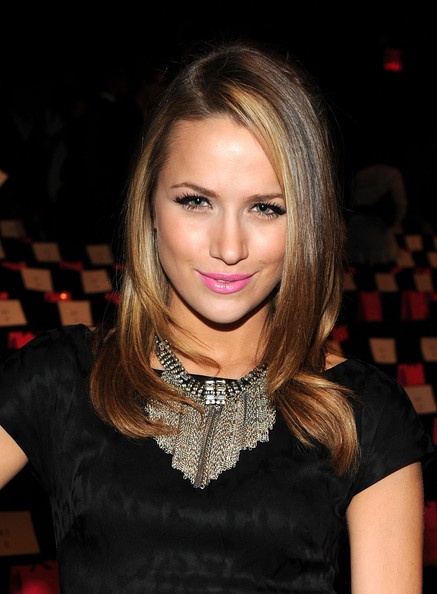 Shantel VanSanten Silver Statement Necklace