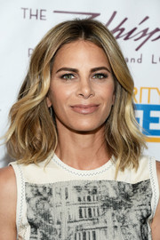 Jillian Michaels sported lovely center-parted waves during the celebration of her Shape Magazine cover.