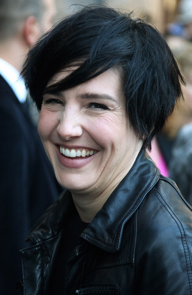 Sharleen Spiteri Messy Cut [hair,face,smile,facial expression,people,hairstyle,eyebrow,head,chin,beauty,private view arrivals,sharleen spiteri,rankin live,view,the old truman brewery,england,london]