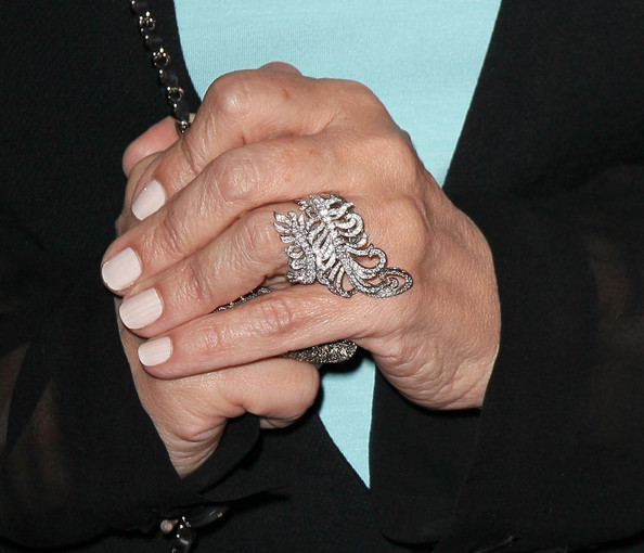 Sharon Osbourne Statement Ring