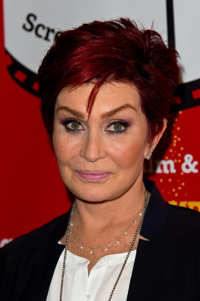 Sharon Osbourne Layered Razor Cut [hair,face,hairstyle,eyebrow,red hair,forehead,chin,black hair,hair coloring,pixie cut,sharon osbourne,photocall,photocall,cineworld haymarket,london,england,cinemagic london festival]