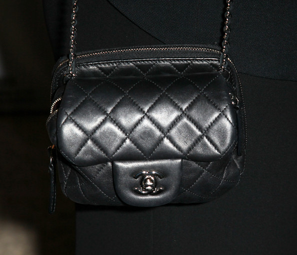Sharon Osbourne Quilted Leather