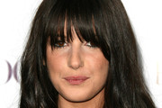 Shenae Grimes Long Wavy Cut with Bangs
