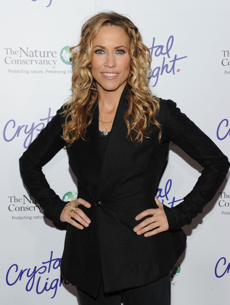 Sheryl Crow Long Curls