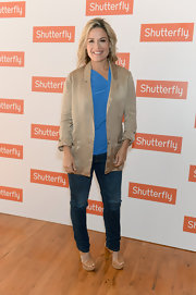 Cat wore this pair of classic skinny jeans to the Shutterfly by Desing event in NYC.