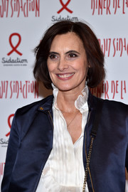 Ines de la Fressange kept it classic and sweet with this bob at the 2017 Sidaction Gala.