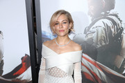 Sienna Miller Off-the-Shoulder Dress