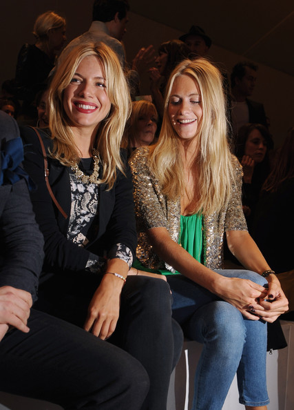 Celebrities On The Front Row: Day Three - LFW Spring/Summer 2011