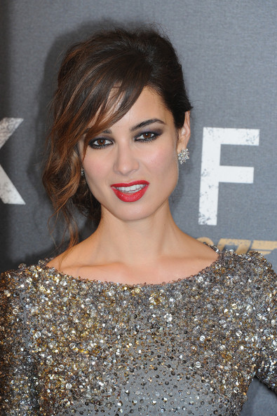More Pics of Berenice Marlohe Messy Updo (1 of 15) - Berenice Marlohe Lookbook - StyleBistro