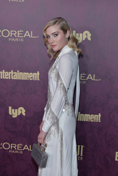 Skyler Samuels Metallic Purse
