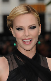 Charlize Theron created a dramatic smoky-eyed look for the world premiere of 'Snow White and the Huntsman.'