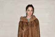 Sofia Sanchez Barrenechea Fur Coat