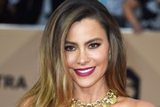 Sofia Vergara Gold Statement Necklace