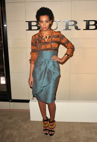 Solange Knowles Pencil Skirt