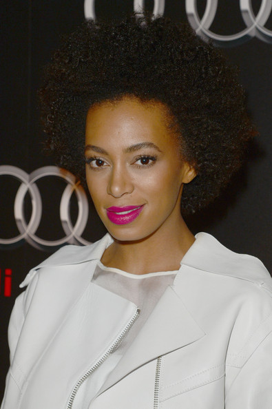 Solange Knowles Short Curls [hair,hairstyle,lip,beauty,eyebrow,black hair,afro,forehead,human,jheri curl,solange knowles,audi forum new orleans,ogden museum of southern art,new orleans,louisiana,audi celebrates super bowl]
