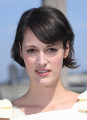 Phoebe Waller-Bridge kept it casual and cute with this bob with side-swept bangs at the 'Solo: A Star Wars Story' photocall in London.